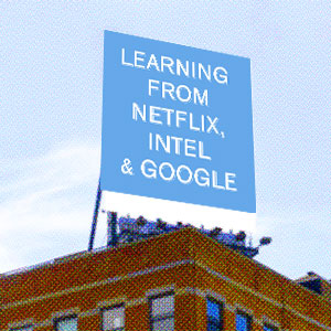 Advertising in cities: Learning from Netflix, Intel and Google