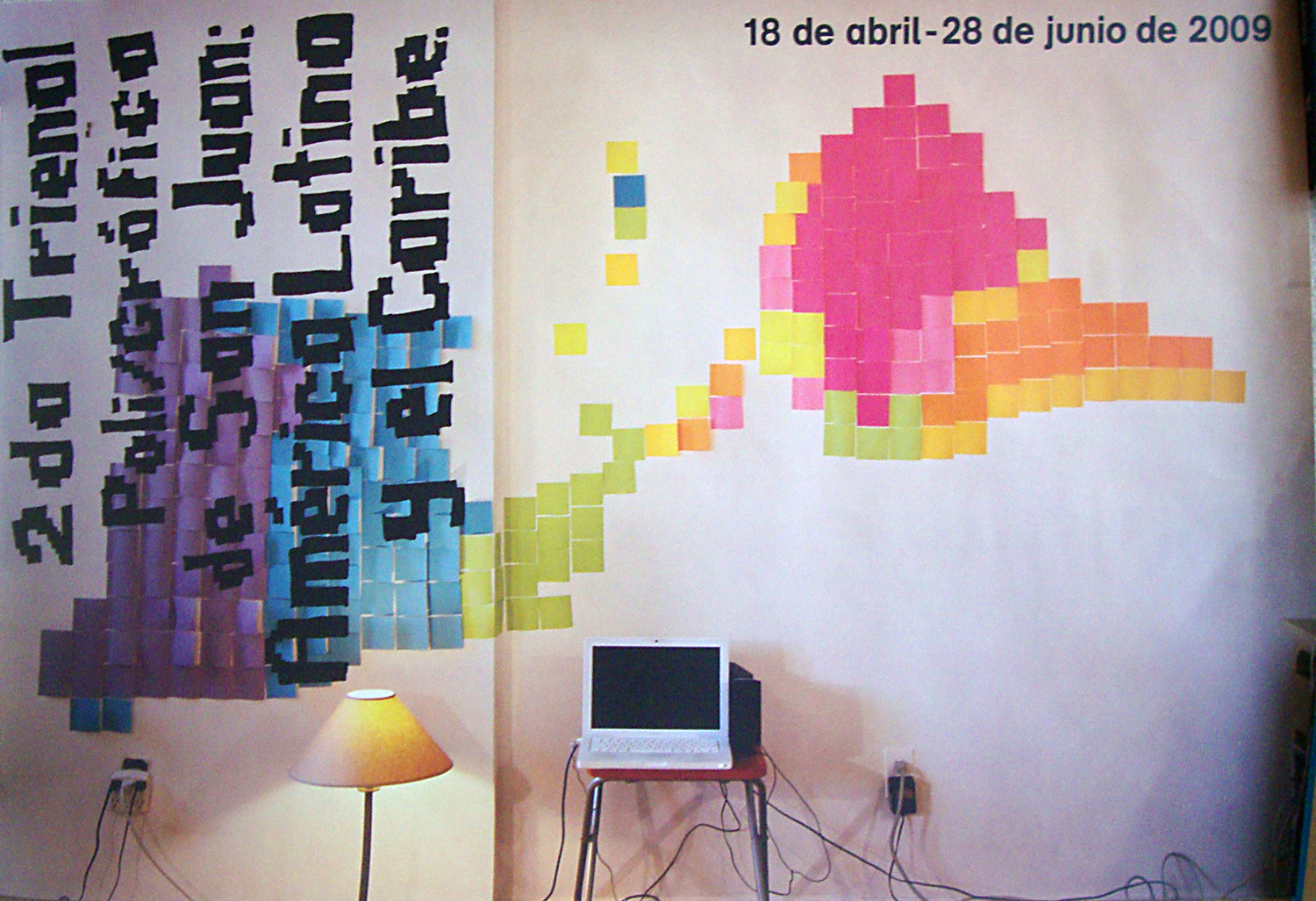 Poster for Triennial Arts event